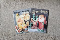 Decorative Painting Craft Book - Farmer's Almoonac and The Christmas Parade by Rose Calton, in Alamogordo, New Mexico