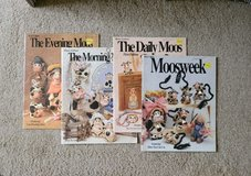 Decorative Painting Craft Books - The Evening Moos, The Morning Moos, The Daily Moos, Moosweek b... in Alamogordo, New Mexico