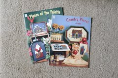 Decorative Painting Craft Books - Pieces of the pallette and Country Pieces of paint by Leslie Beck in Alamogordo, New Mexico