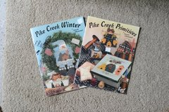 Decorative Painting Craft Books - Pike Creek Winter and Pike Creek Primitives by Susan Allemand in Alamogordo, New Mexico