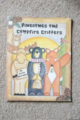 Decorative Painting Craft Book - Pinecones and campfire critters by Karen Alexander in Alamogordo, New Mexico