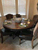 Dining table with 6 chairs in Kingwood, Texas