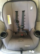 car Seat used as Back Up so it was only used a few times in Vacaville, California