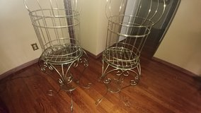 2 Bird cage/Table in Fort Riley, Kansas