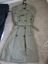 military coat in Lake Elsinore, California
