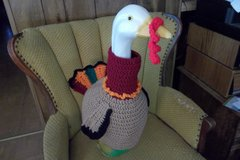 Turkey Geese Goose Crochet Outfit Clothes Lawn Goose Outfit in St. Louis, Missouri