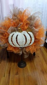 Fall wreath in Lawton, Oklahoma