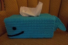 Whale Tissue Box Cover Crochet Ocean Life in St. Louis, Missouri