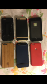 6 CASES IPHONE 6PLUS in Camp Lejeune, North Carolina