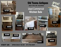 more used commercial kitchen items for sale in Fort Leonard Wood, Missouri
