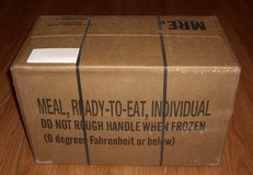 I buy all MREs in Huntington Beach, California