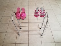 4 Shelf Shoe Rack with Wheels - REDUCED! in Alamogordo, New Mexico