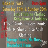 GARAGE   SALE.   August 19th & 20th.   Olympia/ Lacey   8am to 5pm in Olympia, Washington