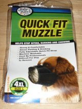 four paws quick fit muzzle  4XL and 5XL in Fort Bragg, North Carolina