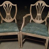 2 antique chairs obo in 29 Palms, California