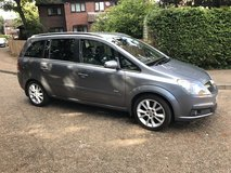 VAUXHALL ZAFIRA 2.2 PETROL 6 SPEED MANUAL 12 MONTHS MOT VERY CLEAN FULL SERVICE HISTORY in Lakenheath, UK