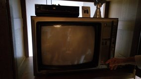 Old TV in Ramstein, Germany