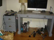 Desk and File Cabinet - solid wood in Beaufort, South Carolina