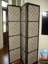 3 Panel Room Divider / Privacy Screen in Beaufort, South Carolina