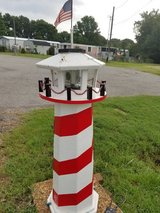 3 working hand made lighthouses in Fort Campbell, Kentucky