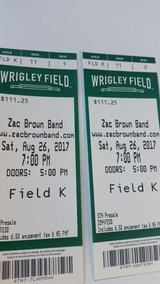 zac Brown TIX in Wheaton, Illinois