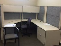 Office cubicles in Pearland, Texas
