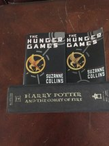 Harry Potter and hunger games book in Ramstein, Germany