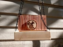 Handmade no squirrels bird feeder in Alamogordo, New Mexico