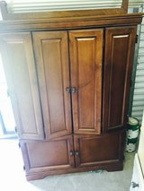 Wood Entertainment Center for Sale. in Valdosta, Georgia