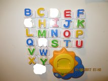 Leap Frog Fridge Phonics Sun Base and Replacement Letters in St. Charles, Illinois