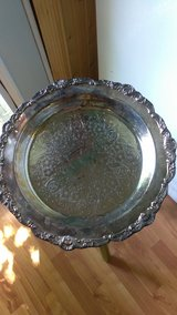 Silver Plate in Coldspring, Texas