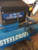 Steelcraft air compressor in Fort Campbell, Kentucky