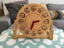 Pottery barn wooden toy clock in Bolling AFB, DC