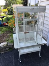 Bird cage in Great Lakes, Illinois