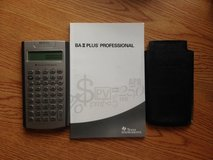 Texas Instrument BA II Plus (Finance) Professional Calculator in Lockport, Illinois
