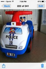 Toy.  Police car in Hinesville, Georgia