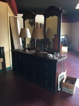 Large Vintage Wood Dresser w/ 2 Mirrors in Fort Polk, Louisiana