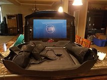 Gaems Game Console travel case with built in flat screen TV in Fort Polk, Louisiana