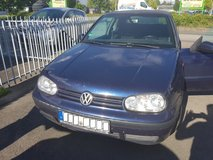 1999 VW GOLF4 KOMFORTABEL*NEW INSPECTON* in Spangdahlem, Germany