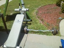 weights/bar and bench in Hinesville, Georgia
