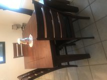 Ashley Dining room table & chairs in Cherry Point, North Carolina