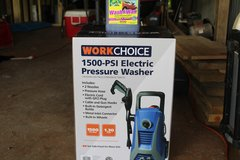 WorkChoice Pressure Washer With bottel of wash&wax in Fort Polk, Louisiana