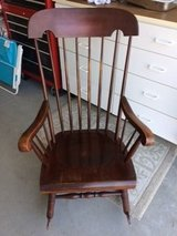 Rocking Chair to Military Couple in Vista, California