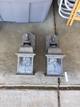 pair of outdoor lights in Vacaville, California