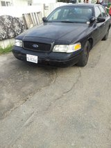 1999 Ford Crown Victoria P71 (Currently registered until 3/22/2018). in Camp Pendleton, California