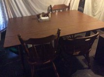 Kitchen table in Fort Campbell, Kentucky