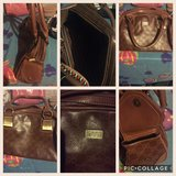 brown leather Gucci shoulder bag in Fort Campbell, Kentucky