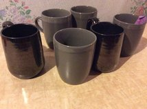 Black and gray mugs in Fort Campbell, Kentucky