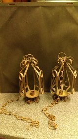 Iron candle holders in Fort Campbell, Kentucky
