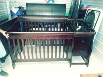 Crib/changing table in Fort Lewis, Washington